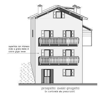 Alleghe restauro for Disegni di blocchi di cemento casa